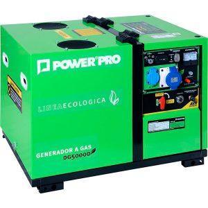 Generadores electricos a gas licuado