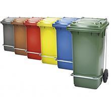 Contenedores plásticos para basura con pedal